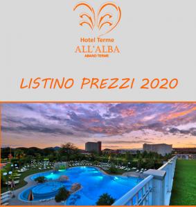 Listino Prezzi-Hotel All'Alba