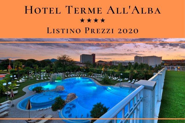 Listino Prezzi - Hotel All'Alba - Abano Terme