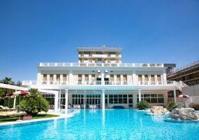 Piscina Termale Esterna - Hotel All'Alba