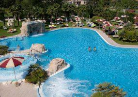 Panorama Piscina Esterna Hotel All'Alba